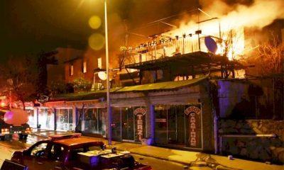 Gümbet'te gece çıkan yangın büyük panik yaşattı… gumbet yangin 1 400x240