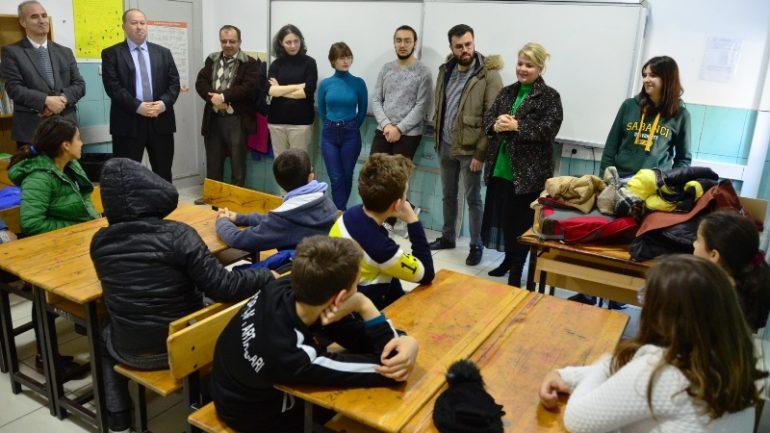 Bodrum'da öğrenciler kendini keşfediyor…