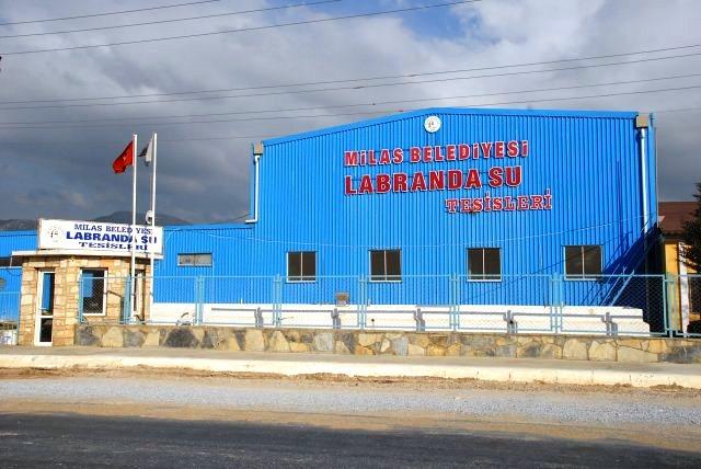 milas labranda su fabrikası Labranda Su Fabrikasına 12 milyon liralık yatırım… labranda su fabrikasi