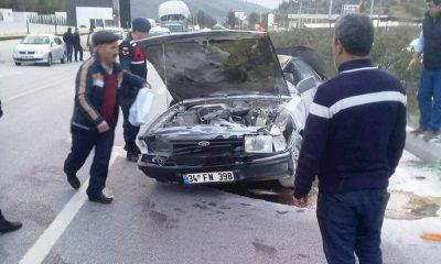 milas kaza Refüje çarpıp takla attı… milas kaza 1 1 400x240