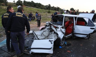 milas kaza 7 Aylık hamile kadınında yaralandığı kaza korkuttu… milas kaza 1 400x240