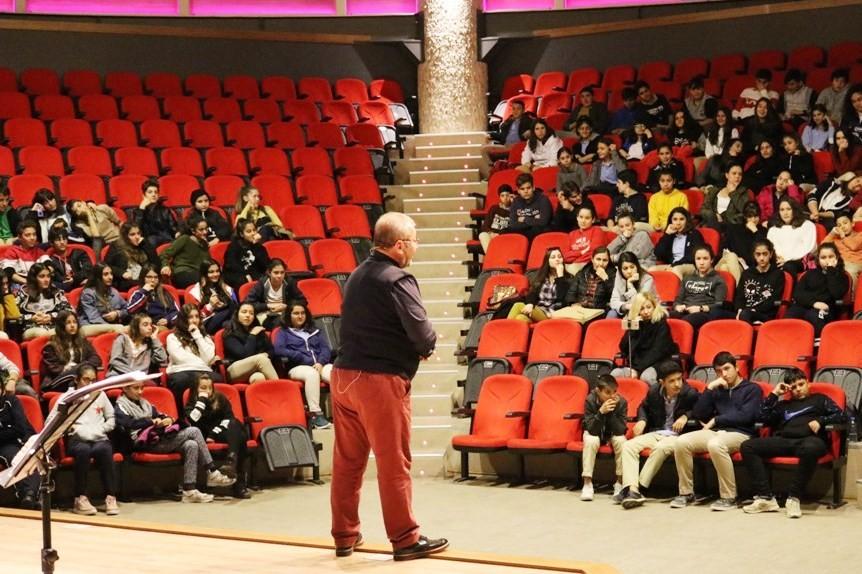 ahmet Özsaylak Öğrencilere sınav motivasyonu eğitimi verildi… sinav motivasyon egitimi 1