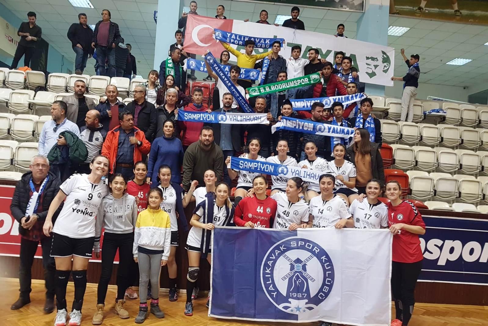"""yalıkavakspor """"Denizin Kızları"""" yarı finali kolayladı… yalikavakspor 1"""
