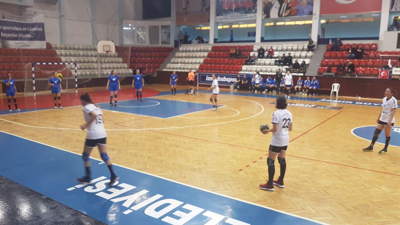 """yalıkavakspor """"Denizin Kızları"""" yarı finali kolayladı… yalikavakspor 2"""