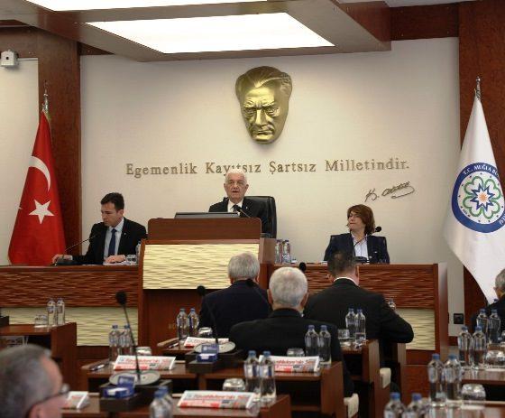 muğla büyükşehir şubat ayı meclisi Büyükşehir Meclisinde Şubat ayı oybirliği ile onaylandı… buyuksehir meclis toplantisi 2 560x463