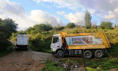 Bitez'den 23 kamyon hafriyat temizlendi… hafriyat 3 400x240
