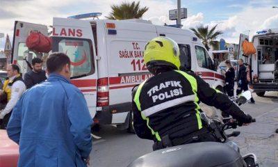 konacık kaza Dikkatsizlik iki kişinin yaralanmasına neden oldu… konacik kaza 400x240