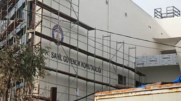 Sahil Güvenlik binası tamamlanıyor…