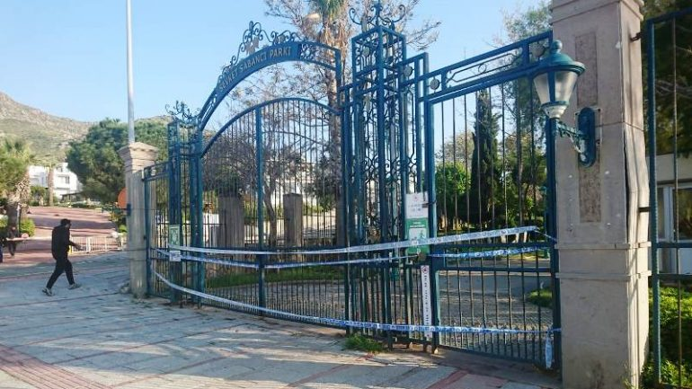 Sabancı Parkı virüs mağduru…