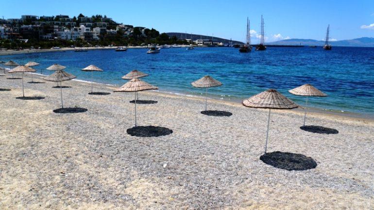 Bodrum Plajları Sezona Hazır…