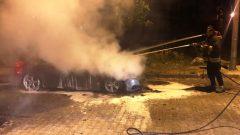 Park Halindeki Otomobilde Yangın…