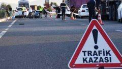 Trafik Kazalarının Sayısı Azaldı…
