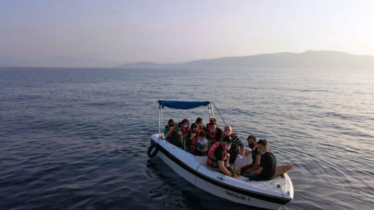 11 Sığınmacı Kurtarıldı…