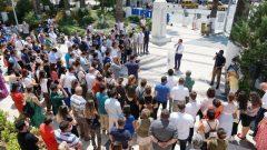 Başkan Aras, Belediye Personeliyle Bayramlaştı…