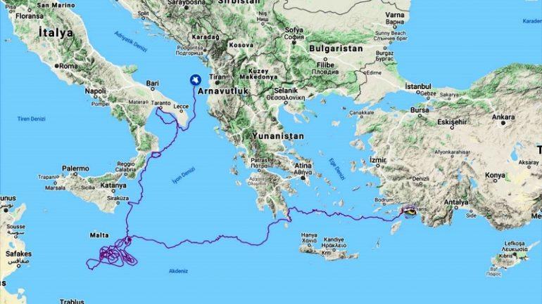 Marmaris'ten Sonra 5 Bin 500 Km Yaptı…
