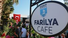 """""""Farilya Kafe"""" Gündoğan'da Hizmete Girdi…"""