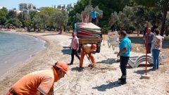 Güllük'te Yeni Halk Plajı Hizmete Girdi…
