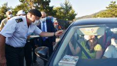 Jandarma Genel Komutan Yardımcısı Korgeneral Çitil, Bodrum'da…