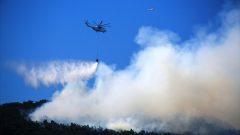 Milas'da Çıkan Orman Yangını Söndürüldü…
