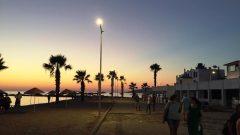 Günbatımı Plajı Işıl Işıl…