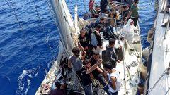 Türk Kara Sularına İtilen 63 Sığınmacı Kurtarıldı…
