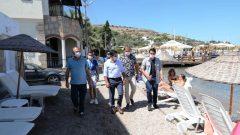 Başkan Aras Torba Ve Gölköy'de İicelemelerde Bulundu…