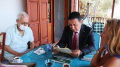 Original El Yazmalarını Başkan Aras Teslim Aldı…