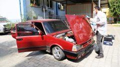 Kontrolde, Çaldığı Otomobille Yakalandı…