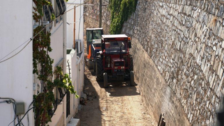 Sokak ve Caddelerde Çalışmalar Aralıksız Devam ediyor…