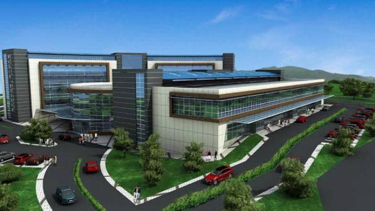 Hastane İnşaatı Yüklenici Firmaya Teslim Edildi…