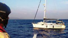Arızalanan Tekne Sürüklendi…
