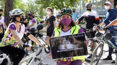 """Bisikletçilerden """"Bisikletime Çarparsan Ölürüm"""" Etkinliği…"""