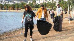 Belediyenin Kıyı Temizliğine Ünlü İsimlerden Destek…