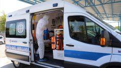 Hasta Nakil Ambulanslarıyla Hizmet Devam Ediyor…