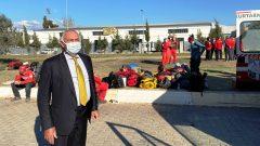 Muğla Milletvekili Demir, deprem bölgesinde…