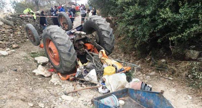 Traktör Altında Kalan Karı-Koca Hayatını Kaybetti…