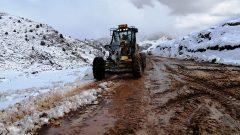 Muğla'nın Yüksek Kesimlerinde Kar Etkili Oldu…