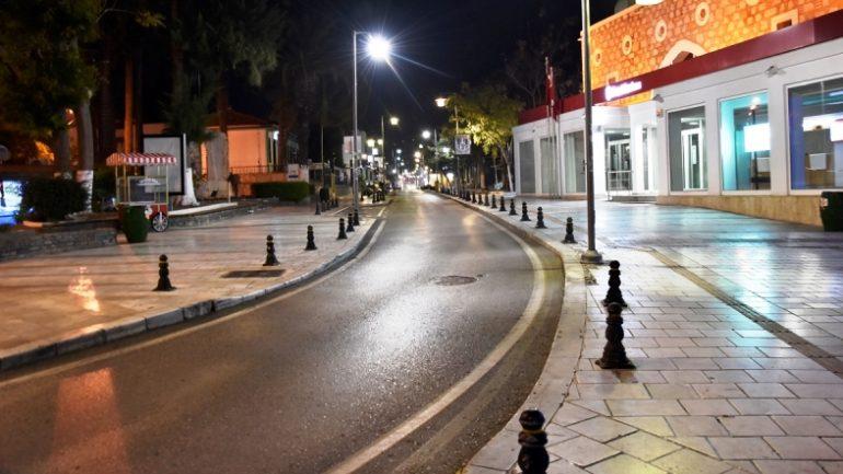 Bodrum'un Sokakları Sessizliğe Büründü…