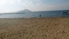 Turgutreis Plajında Dedektörlü Dalış Kameralara Yakalandı…