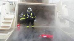 Lüks Motoryatta Çıkan Yangın Söndürüldü…